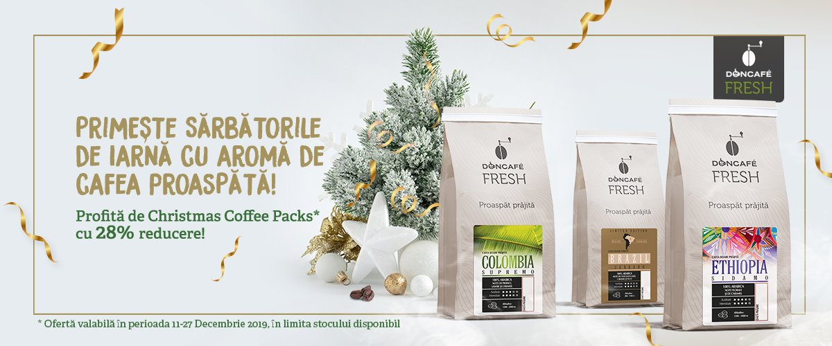 Christmas Coffee Packs