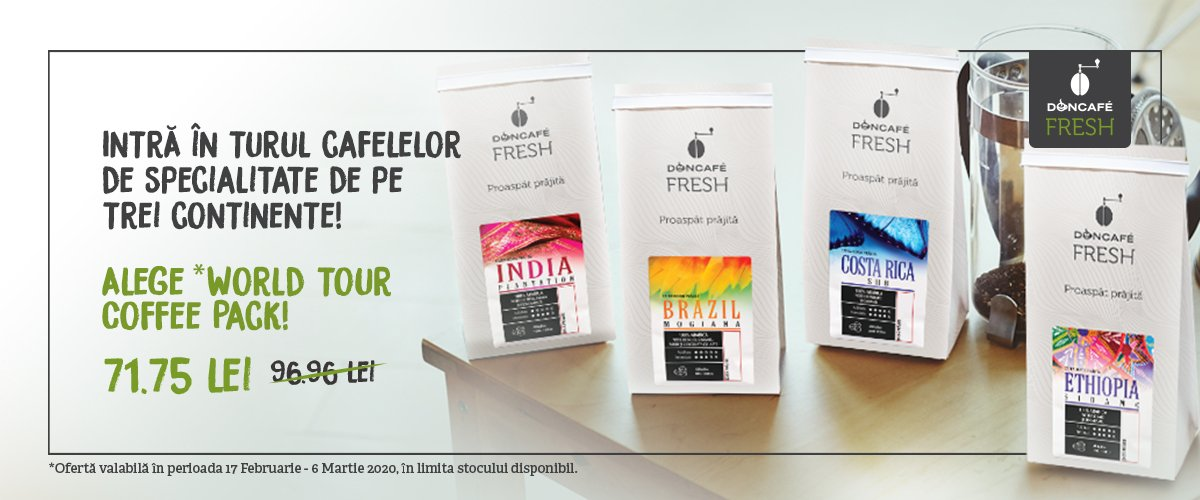 World Tour Coffee Pack
