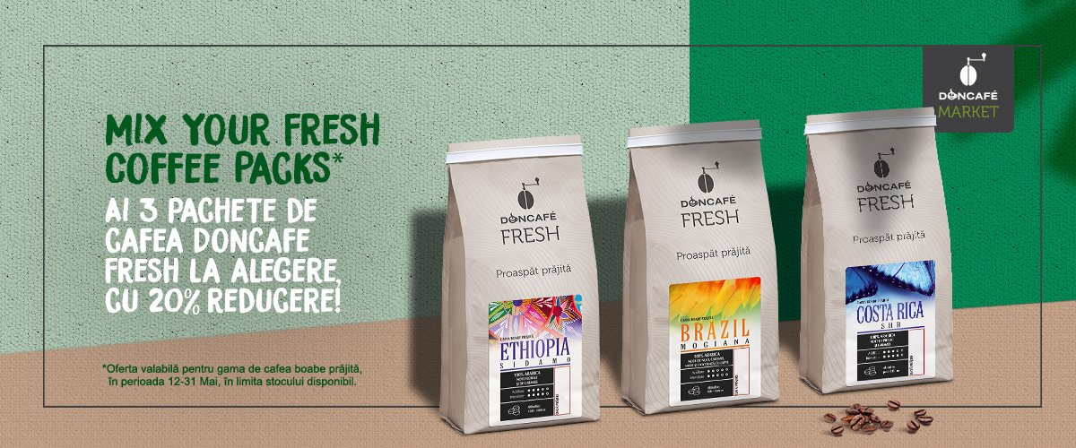 mix fresh coffee packs
